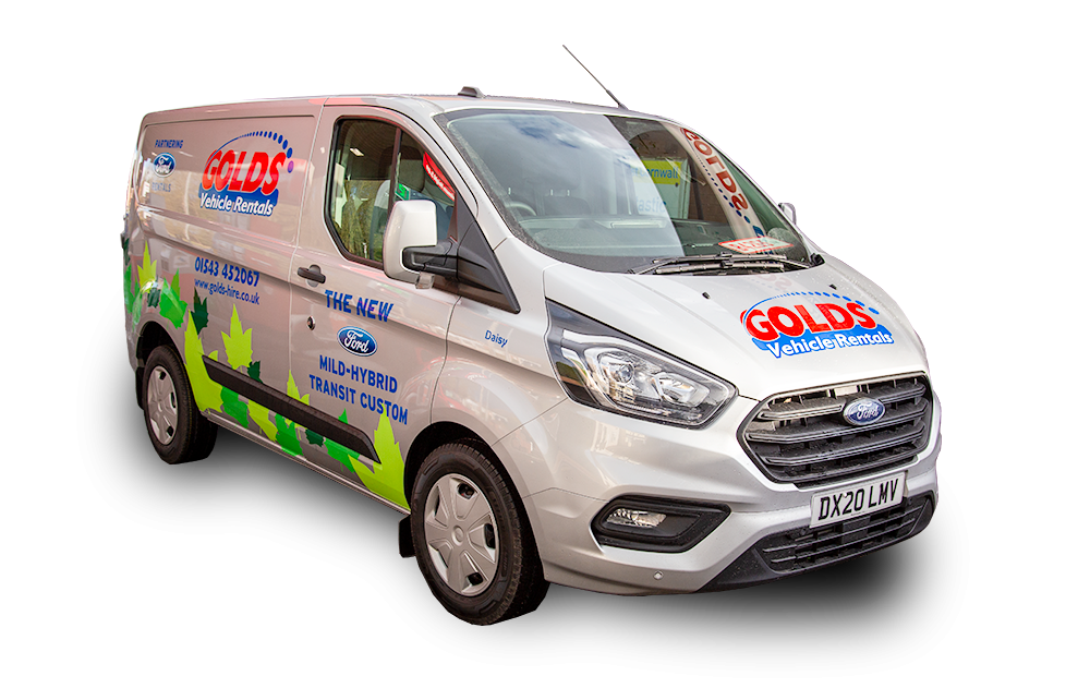 New Ford Transit Mild-Hybrid Custom
